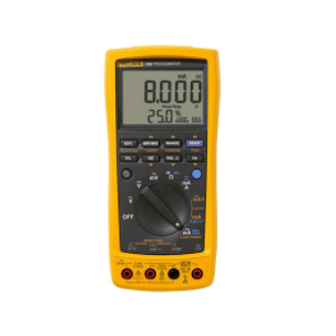 Fluke 789 ProcessMeter 24-Volt calibration multimeter here.