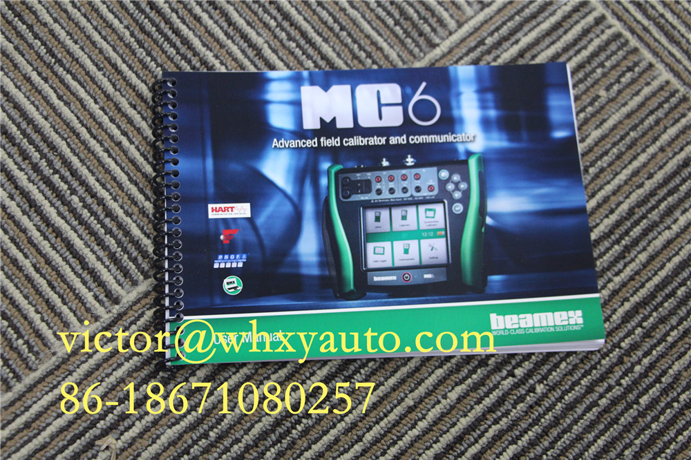 Beamex MC6 Communicator سے اور فیلڈ CALIBRATOR MC6 Beamex