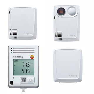 Testo 160 IAQ WiFi Data logger and monitoring CO,CO₂,light and sound Temperature Humidity Pressure HVACR Industry